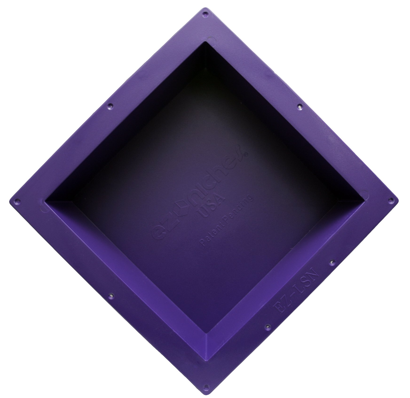 EZ-NICHES - USA - EZLSN - 14in x 14in - Recessed Tile Ready Wall Shampoo Soap Niche by EZ-NICHES
