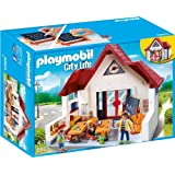 Playmobil 6865 City Life School House with Moveable Clock Hands
