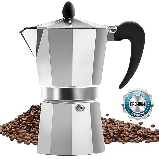 Zulay Kitchen cafetera de espresso clásica para café expreso ...
