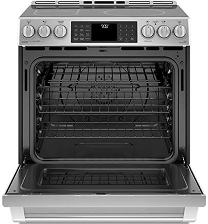 Amazon.com: GE Cafe chs985selss 30 inch Slide-In gama ...