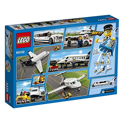 Buy Lego Airport VIP Service, Multi Color Online at Low Prices in ...