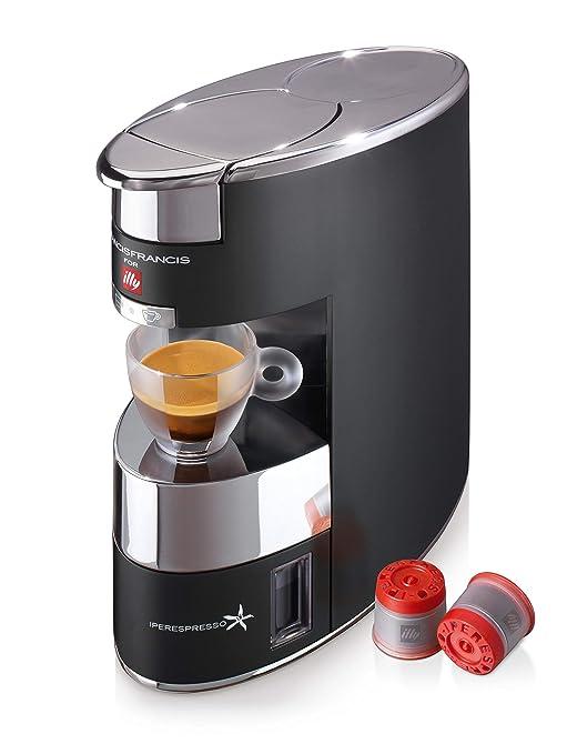 illycaffè 60177 Máquina de cápsulas 230 W, Aluminio, Negro: Amazon ...