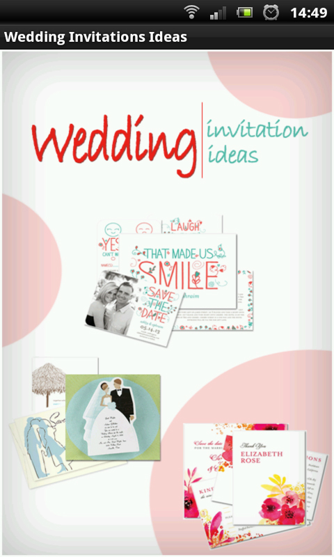 amazon com wedding invitations ideas appstore for android