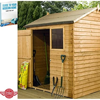 Abri de jardin Boîte de rangement de jardin en bois Armoire Grande ...