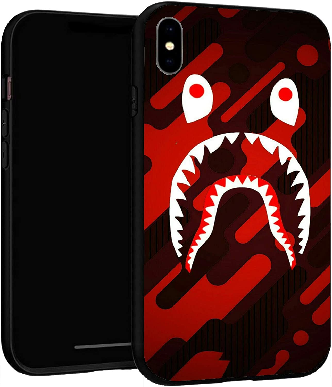"iPhone XR Case 6.1"",Case Cover for iPhone XR (Bape-Shark-2)"