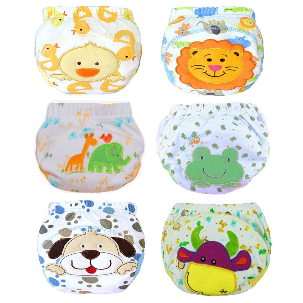 JT-Amigo Baby Boys Underwear Potty Training Pants Reusable 6 Pack, Size 12 Months Baby-Pants-Boys-80