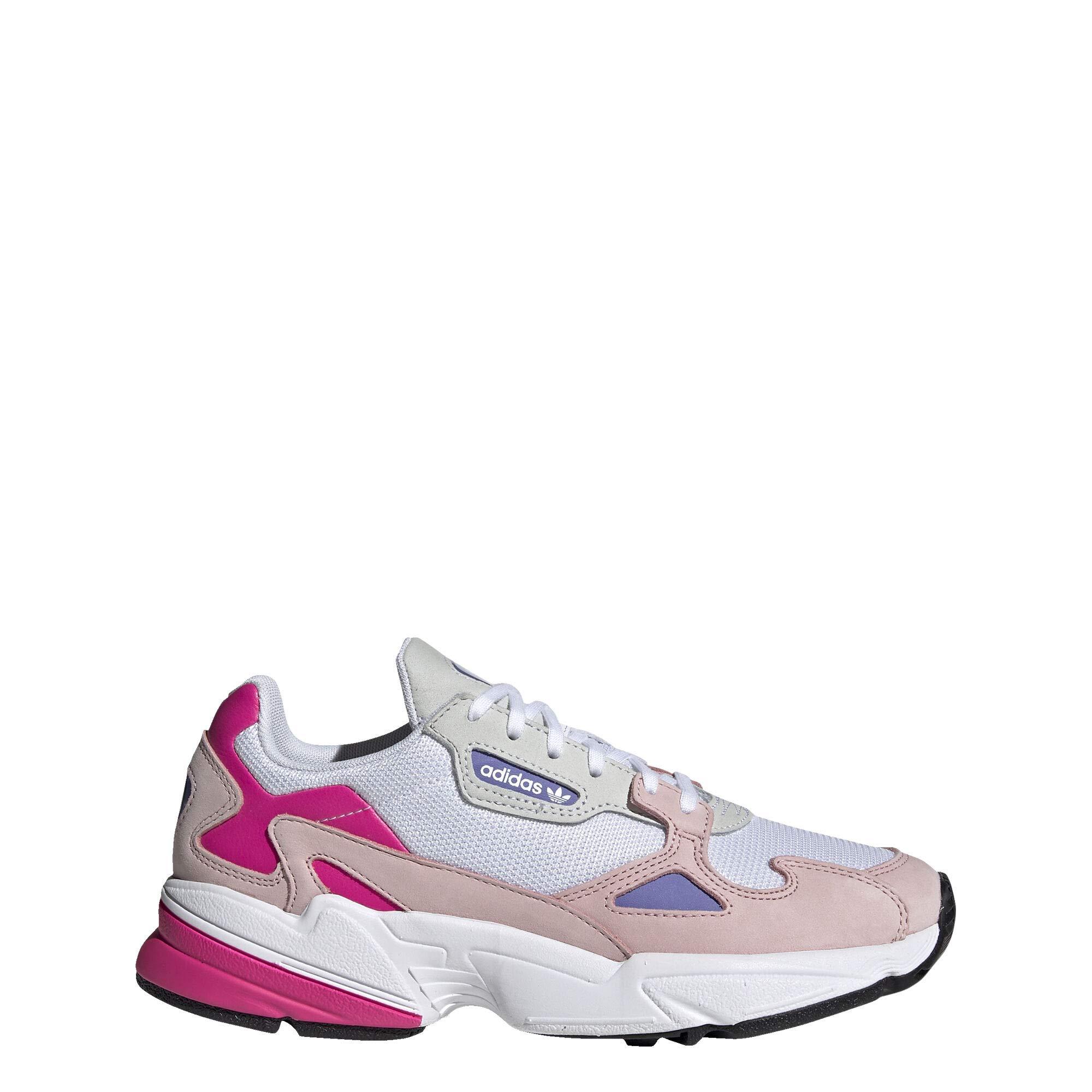 adidas Falcon Shoes Women's, White, Size 9