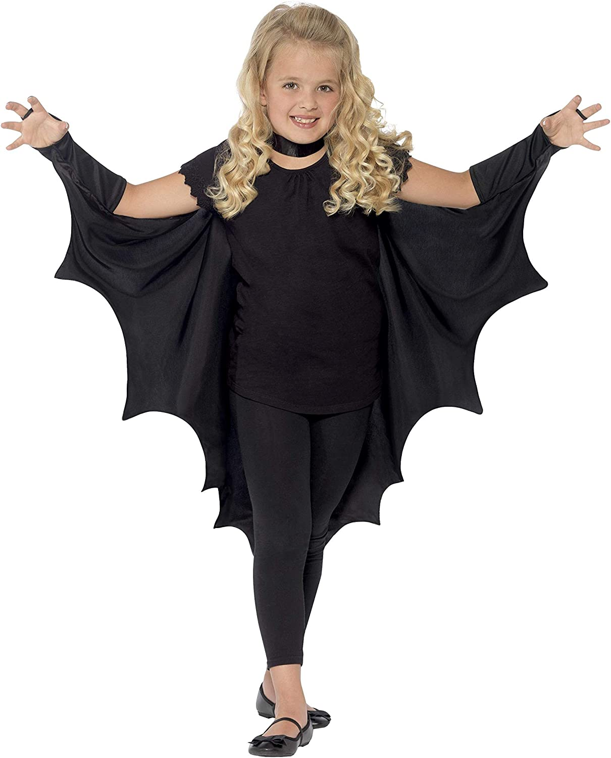 Child/'s Nero Pipistrello Costume fantastico per libro settimana