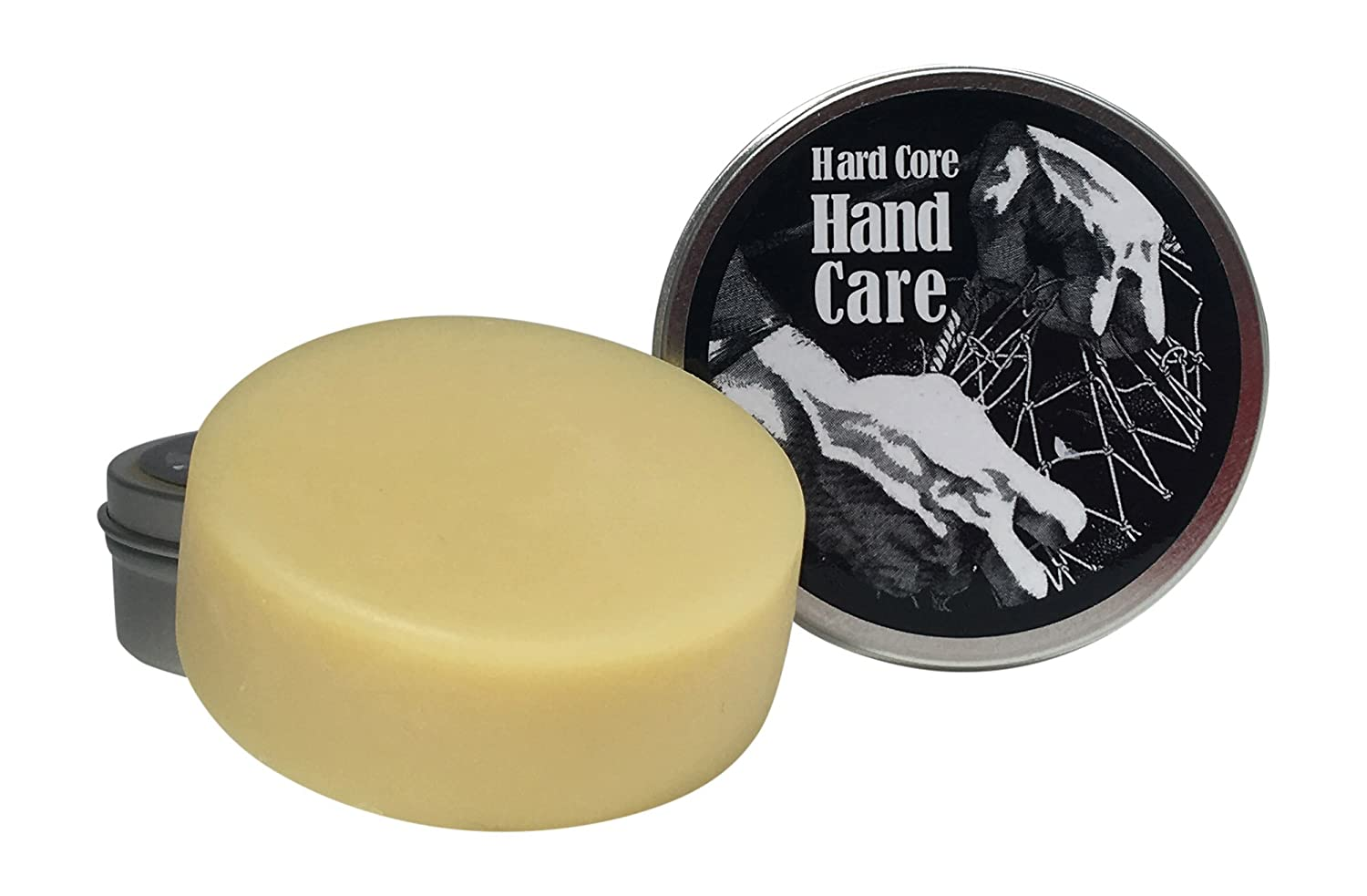 Hard Core Hand Care Fragrant Hand Balm (SeaBreeze) - Scented Natural Relief Salve - Pure Essential Oil Formulated