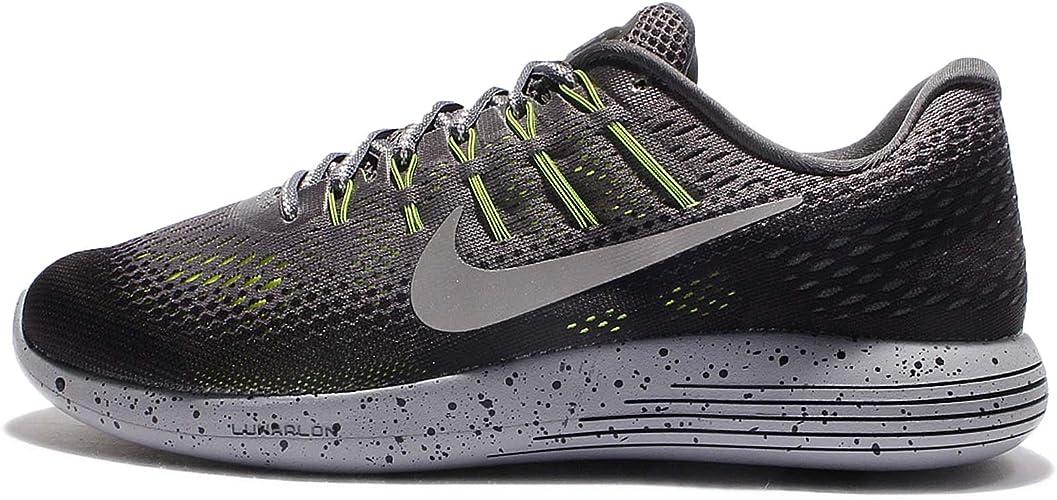 Nike 849568-007, Zapatillas de Trail Running para Hombre, Gris (Dark Grey/Metallic Silver/Black/Volt), 38.5 EU: Amazon.es: Zapatos y complementos