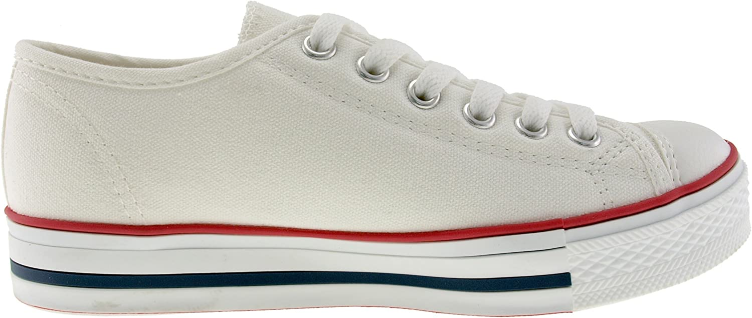 M US Womens Maxstar C1-1 6-Holes Casual Canvas Low Sneakers White 10 B