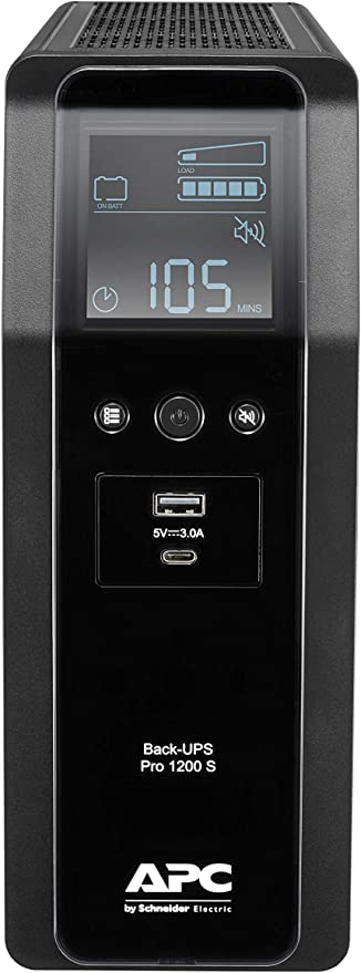 Apc By Schneider Electric Back Ups Pro Br1200si Usv Computer Zubehör