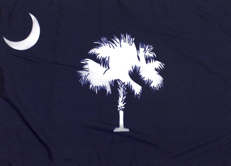 6x10ft South Carolina Flag - Highest Quality Outdoor Nylon