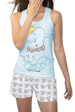 nuove varietà moda più desiderabile tecnologie sofisticate Disney Pigiama Bretelle Dumbo Donna