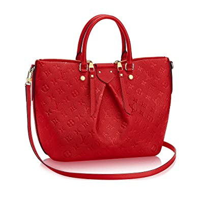 12f8b2d4c64e Authentic Louis Vuitton Mazarine MM Bag Handbag Article  M50641 Cherry Made  in France  Handbags  Amazon.com