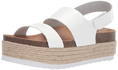 1cba5c24f6 Dirty Laundry by Chinese Laundry Women's Peyton Espadrille Wedge Sandal,  White Smooth, ...
