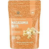 Macadamia Nuts Salted, 10 oz. Dry Roasted Macadamia Nuts with Sea Salt, Dry Roasted Nuts Macadamia, Sea Salt Macadamia…