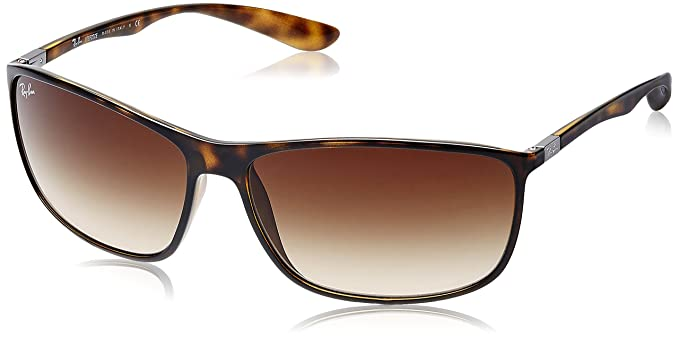 bdd67eb1c3 Amazon.com  Ray-Ban Men s Injected Man Sunglass Rectangular