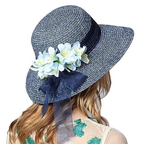 estilo de moda calidad autentica moda caliente Ghpter-hat Sombrero De Paja para Señoras Straw Sombrero de ...