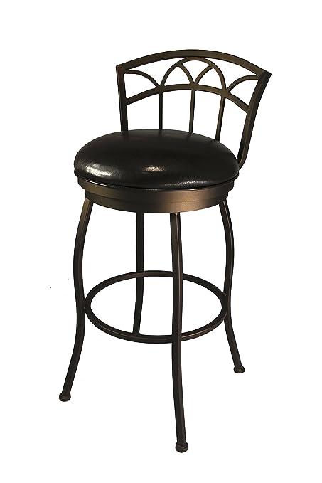 Amazoncom Callee Inc Fairview Swivel Barstool 26 Inch Seat