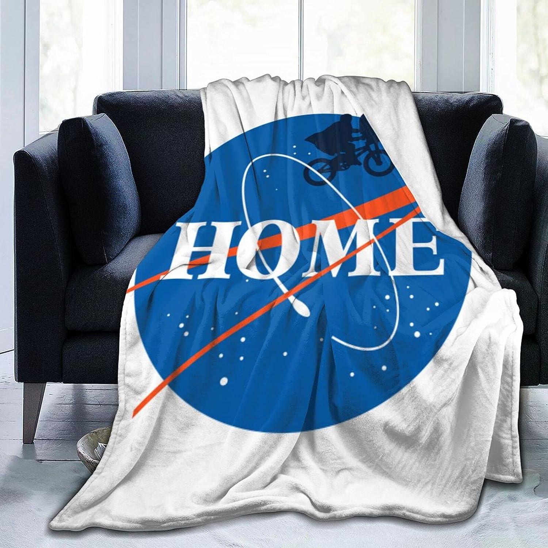 Classic E.T. NASA Home Blanket Durable Ultra-Soft Comfortable Luxury Blanket All Seasons for Bedroom Living Room Sofa Home Office Travel Picnic