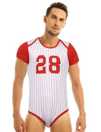 Alvivi Camiseta Deportiva Hombre de Béisbol Fútbol Baloncesto Body ...