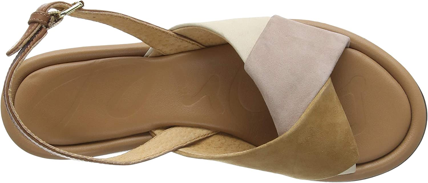 Joules Women's Sandal Capuccino