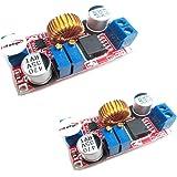 HiLetgo® 2個セット 5A大電流 定電圧電流 モジュール LEDドライバー [並行輸入品]