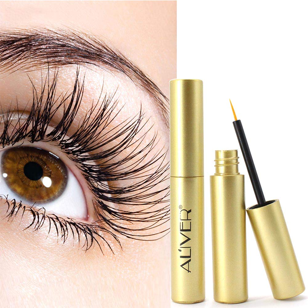Yiitay Eyelash Growth Serum Oil Natural Extract Mascara Lash Growth Serum Eyelash Enhancer Growth Serum Eyelash Enhancer Treatment, Eyelash & Eyebrow Booster for Longer Thicker and Fuller Eyelash