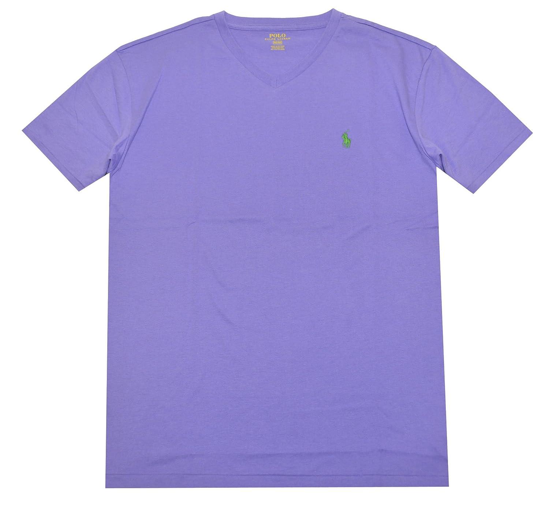 POLO RALPH LAUREN Camiseta con Cuello De Pico para Hombre: Amazon ...