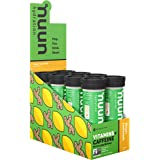 Nuun Vitamins: Vitamins + Electrolyte Drink Tablets, Ginger Lemonade, Box of 8 Tubes (96 Servings), Enhanced Everyday Wellness & Energy