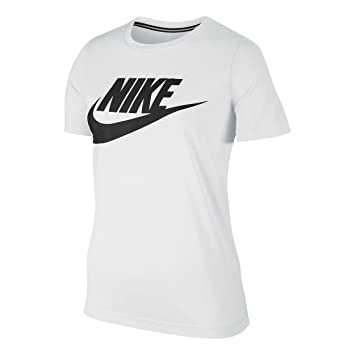 Nike Essential tee Hybrid Camiseta, Mujer: Amazon.es: Deportes y aire libre