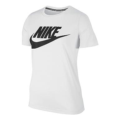 60f030f7c9a Nike Essential tee Hybrid Camiseta, Mujer: Amazon.es: Ropa y accesorios