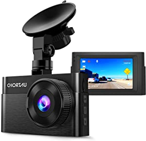 Dash Cam for Cars 1080P FHD CHORTAU Dash Camera for Cars 3 inch Dashcam with Super Night Vision, 170°Wide Angle, Parking Monitor, Loop Recording