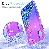 iPhone XR (2018) Glitter Case with Tempered Glass