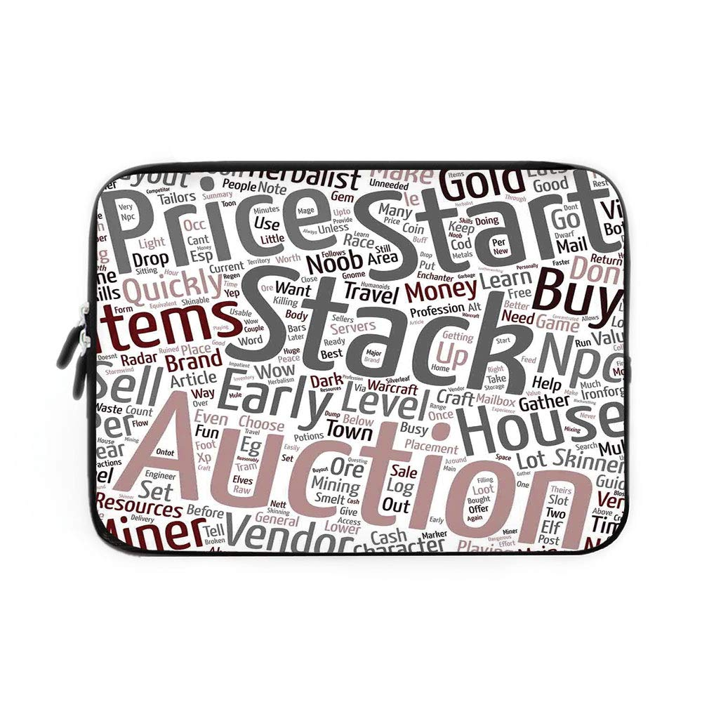 Amazon com: Video Game Laptop Sleeve Bag,Neoprene Sleeve