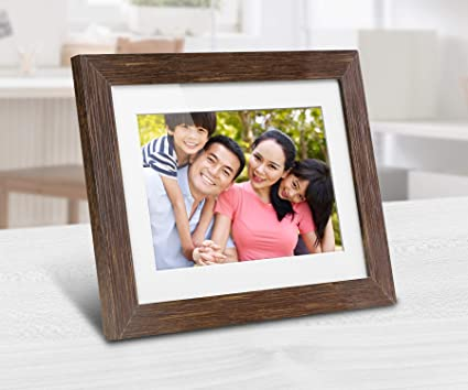 Amazoncom Aluratek Adpfd08f 8 Inch Digital Photo Frame With