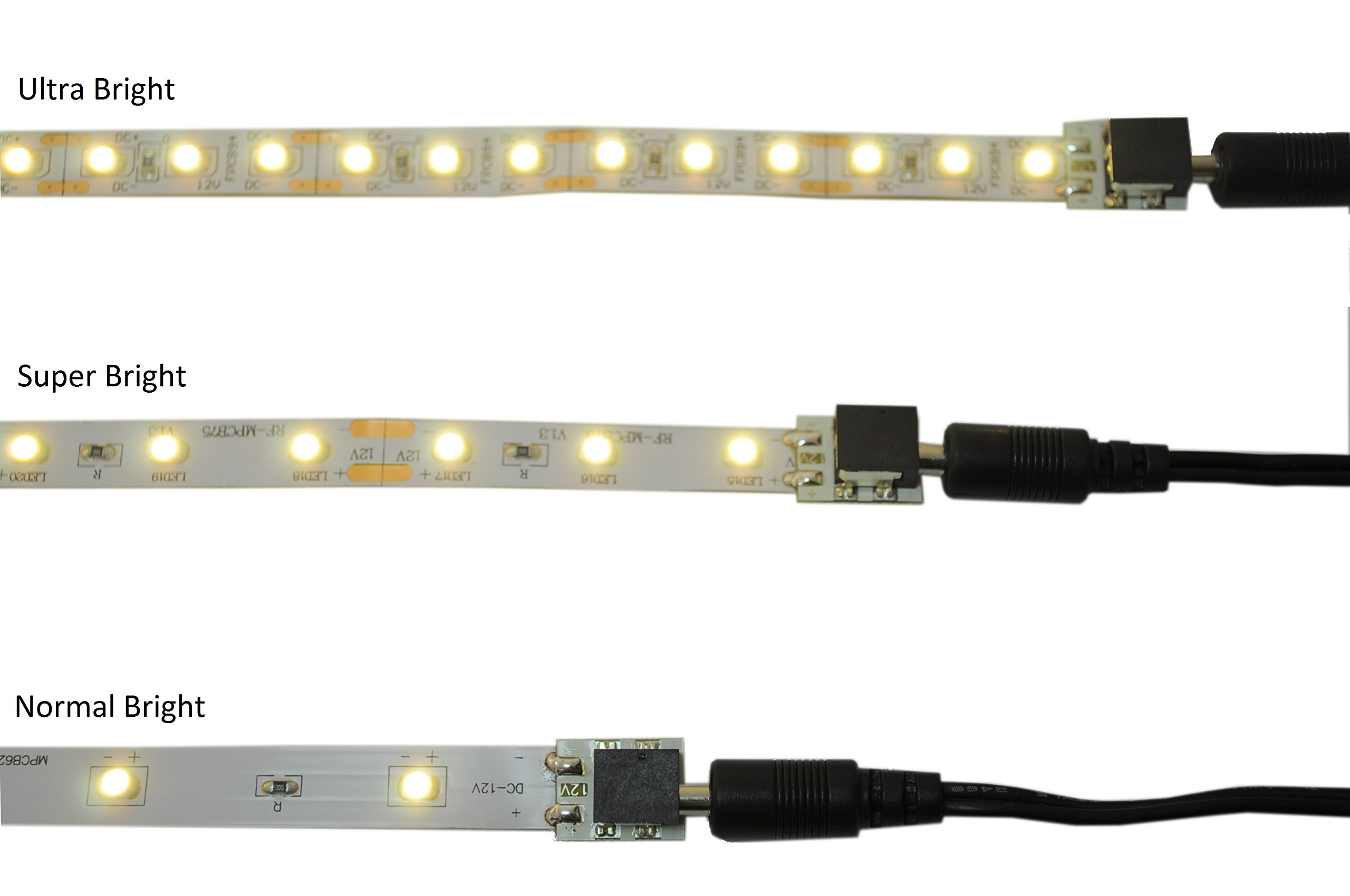 Cable Super Pack - Includes 10 cables with clamps and extenders - Inspired LED
