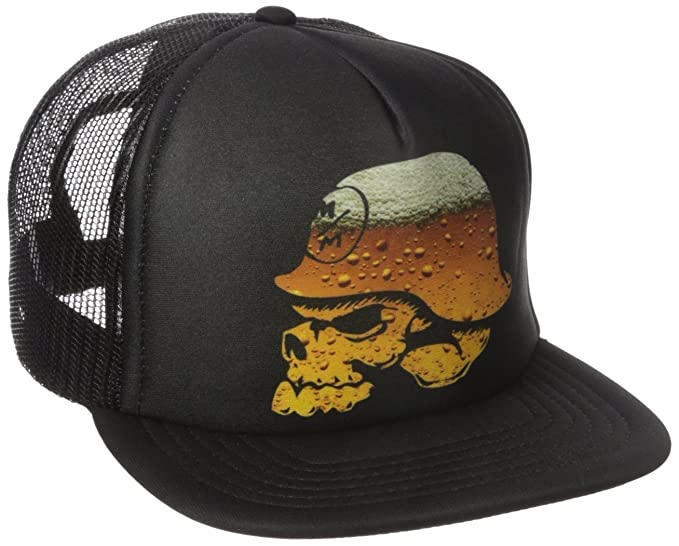811f6527 Metal Mulisha Men's Drink Up Snapback Hat, Black, One Size: Amazon.in:  Clothing & Accessories