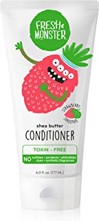 product image for Fresh Monster Natural, Toxin-free Kids Hair Conditioner, Strawberry Smoothie (1 Count, 6oz)