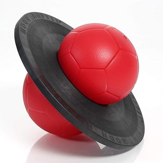 bis 110kg belastbar Togu Moonhopper Sport H/üpfball rot//schwarz