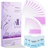 New 44 Strips Hair Removal Wax Strips Lavender Fragrance 22 Pcs Double Side Wax Strips Suitable for Legs, Arms, Underarms and Bikini,3X1.5/2X4inch Each
