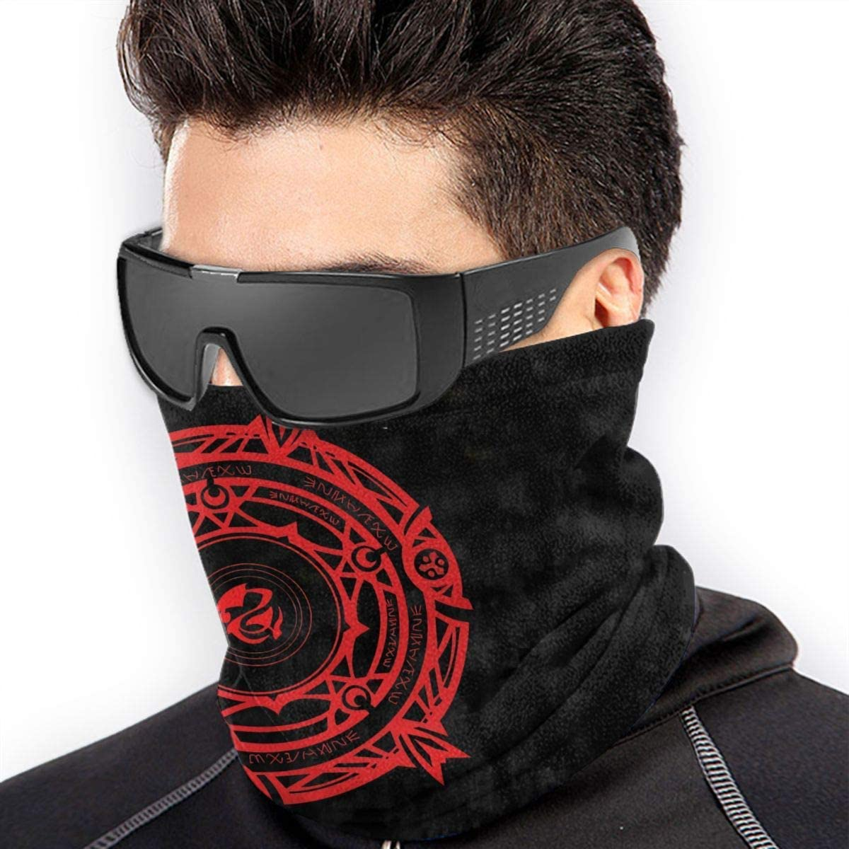 High School DxD Neck Warmers Gaiters Unisex Cold Weather Gear Winter Face Mask Black