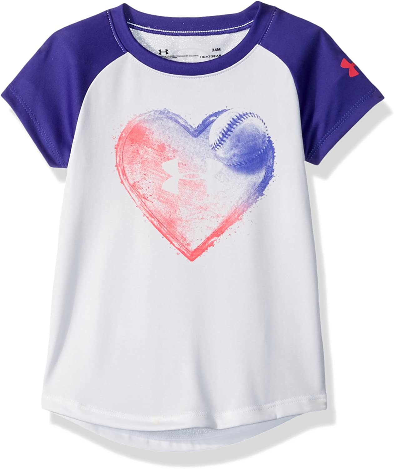 Under Armour Baby Girls Graphic Ss Tee Shirt
