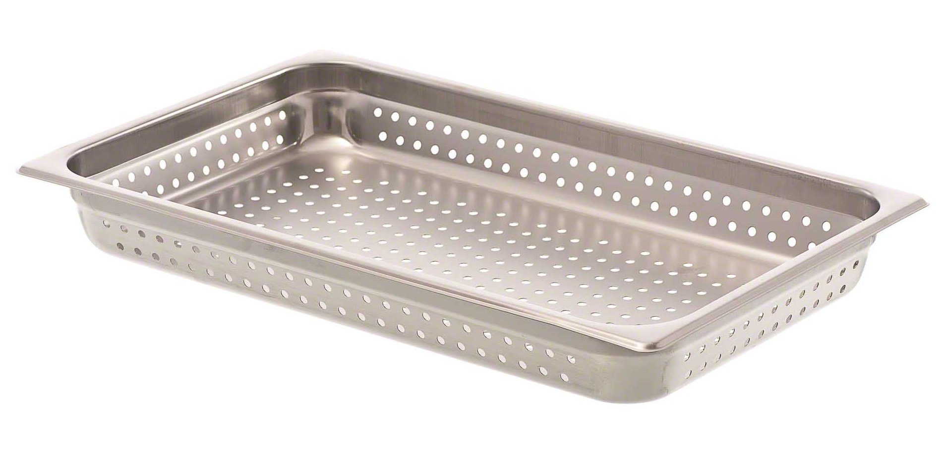 Browne (8002P) 3'' Full-Size Perforated Steam Table Pan