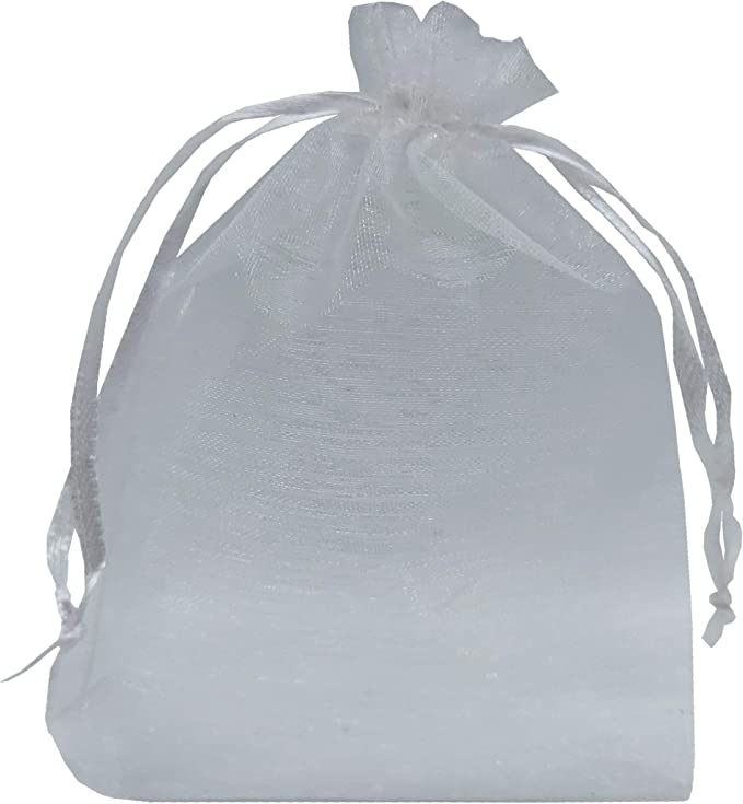 """Bottle//Wine bags gift 12 Quality navy blue Organza Bags 6x14/"""""""