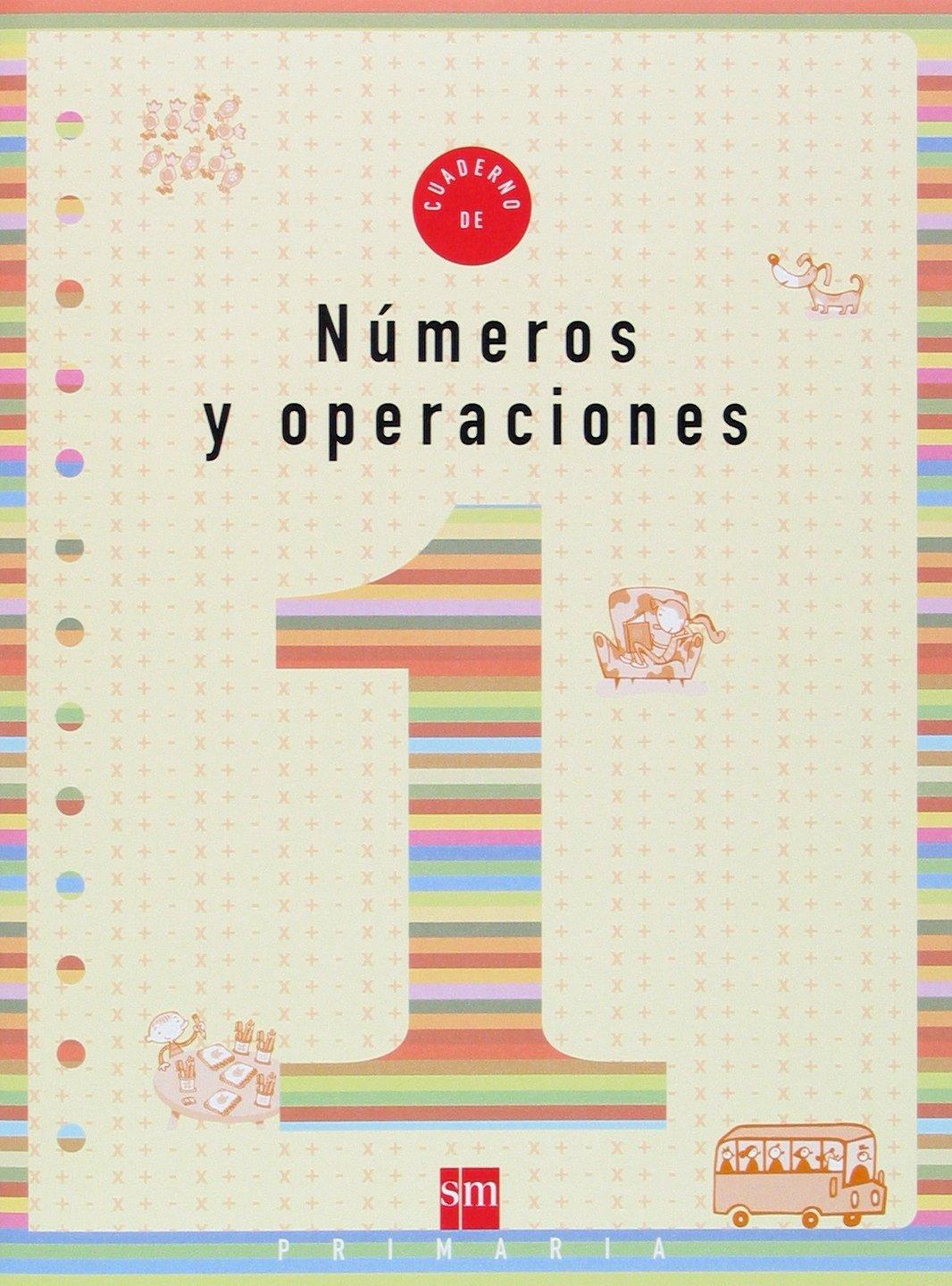 Cuaderno 1 de números y operaciones. 1 Primaria - 9788434897168: Amazon.es: Carmen Sánchez, Maximiliano Luchini: Libros