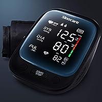 Sinocare Upper Arm Automatic Blood Pressure Monitor,Blood Pressure Monitor with Large Cuff 22-42 cm (Black)