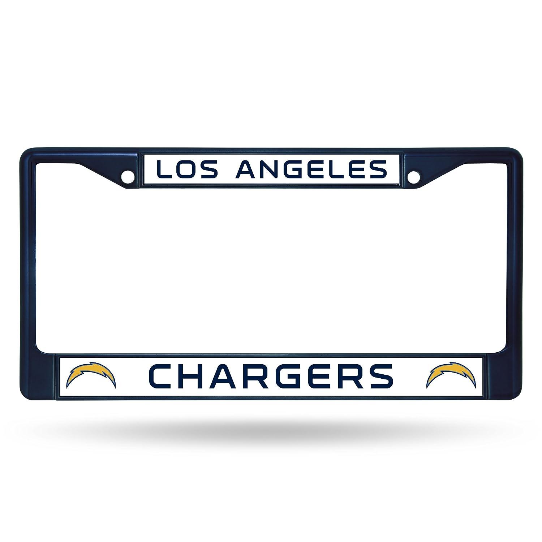 NFL Los Angeles Ladegeräte Team Farbigen Chrom Nummernschild Rahmen ...