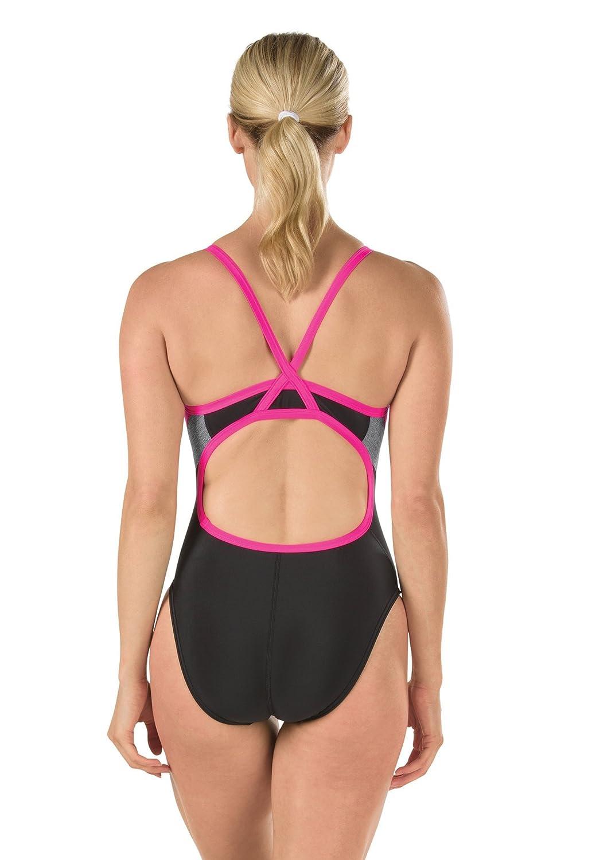 Speedo Womens Pro LT Relaunch Fly Back One Piece Swimsuit Speedo Men/'s and Women/'s Swimwear 8191559-P
